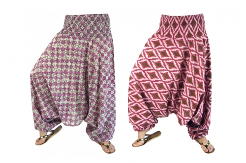 Bloomers & harem trousers