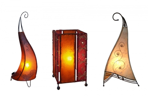 Oriental Table Lamps