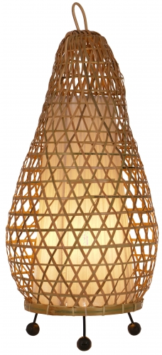 Table Lamp/Table Lamp, handmade in Bali from natural material - Model Hermigua 65cm