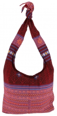 Sadhu Bag, Boho shoulder bag, Hippie bag - red