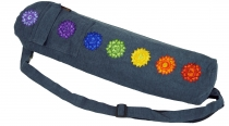 Yoga mat bag 7 Chakra - dove blue