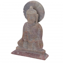 Buddha figure made of soapstone, Buddha sculpture - Model 3