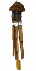ExoticBamboo Wind Chime, Klangspiel - Birdhouse 1