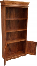 Lavishly decorated bookcase in vintage look - model 3