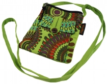Neck pouch, Wallet - green