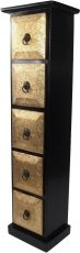 CD cabinet, shelf with metal decorations - Model 2