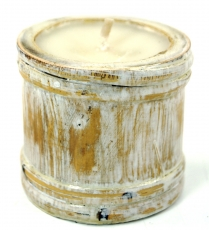 Exozische Bali scented candle bamboo