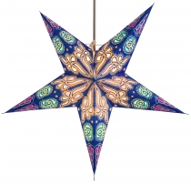 Foldable Advent Starlight Paper Star, Christmas Star 60 cm - Bald..