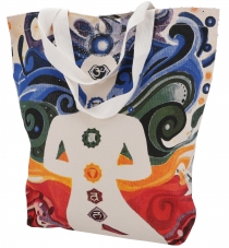 Mirror Shopper bag, shopping bag, beach bag - Chakra