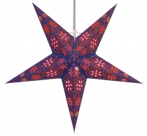 Foldable Advent Starlight Paper Star, Christmas Star 60 cm - Anub..