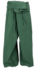 Thai fishing trousers made of cotton, wrap trousers, yoga trouser..