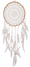 Dream catcher - white 32 cm