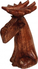 Carved small decorative figure - Fancy Elk 2