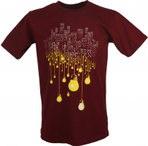 Fun T-Shirt `Big City` - red