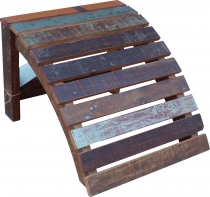 Footstool made of recycled wood - Model 11