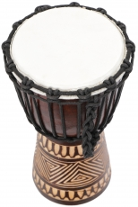 Holztrommel, Percussion Rhythmus Klang Instrument, (Djembe) mit S..