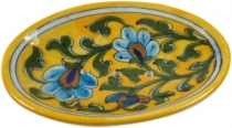 Hand painted ceramic soap dish no. 2