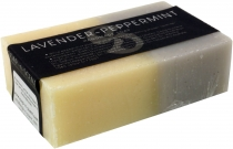 Handmade scented soap, 100 g Fair Trade - Lavender/Peppermint