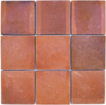 Handmade terracotta tiles 30*30cm sample tile