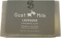 Handmade goat milk soap, 100 g Fair Trade - Lavender
