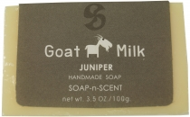 Handmade goat milk soap, 100 g Fair Trade - Juniper