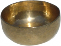 Handmade brass singing bowl from India - 15 cm