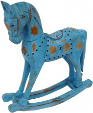 small wooden rocking horse - Design 6