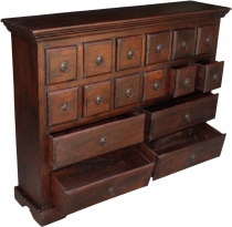 Colonial style pharmacist`s cupboard, drawer cupboard R532