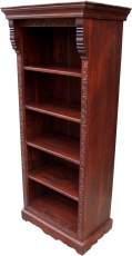 Lavishly decorated bookcase in vintage look - model 5