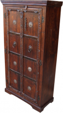 Wardrobe, wardrobe, solid wood, colonial style - Model 5