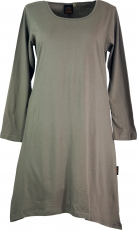 Maxi Tunika, Minikleid, Zipfel Tunika in plus size Form uni - mus..