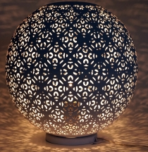 Metal table lamp/table lamp in Moroccan design, oriental lamp in ..