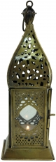 oriental brass/glass lantern in marrocan design, lantern - Model ..