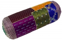 Patchwork bolster, sofa cushion 50 cm - Patchwork