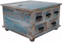 Square drawer cabinet or coffee table - model 9