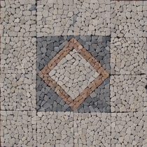 Quadratisches Mosaik Ensemble (120*120 cm) - Design 2