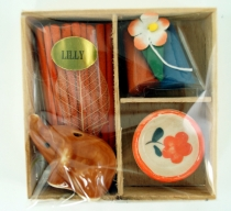 Smoked fragrance set - Lilly