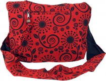 Sadhu Bag, Shopper, small shoulder bag - red