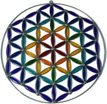 Sun catcher, Suncatcher - flower of life