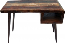 Vintage desk, recycled wood coffee table - Model 22