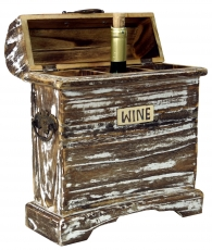 Vintage Look Wine Shelf, Wineragal, Wine Box - Model 4
