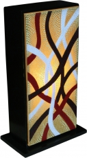 Table Lamp/Table Lamp Tasmania - 3 , handmade in Bali exotic mood..