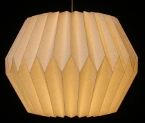 Origami design paper lampshade - Model Umbria