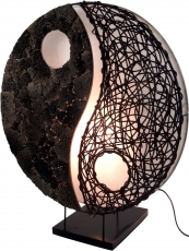 Table lamp/table lamp, handmade in Bali from natural material, la..