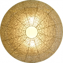 Wall lamp/wall lamp, handmade in Bali from natural material, ratt..