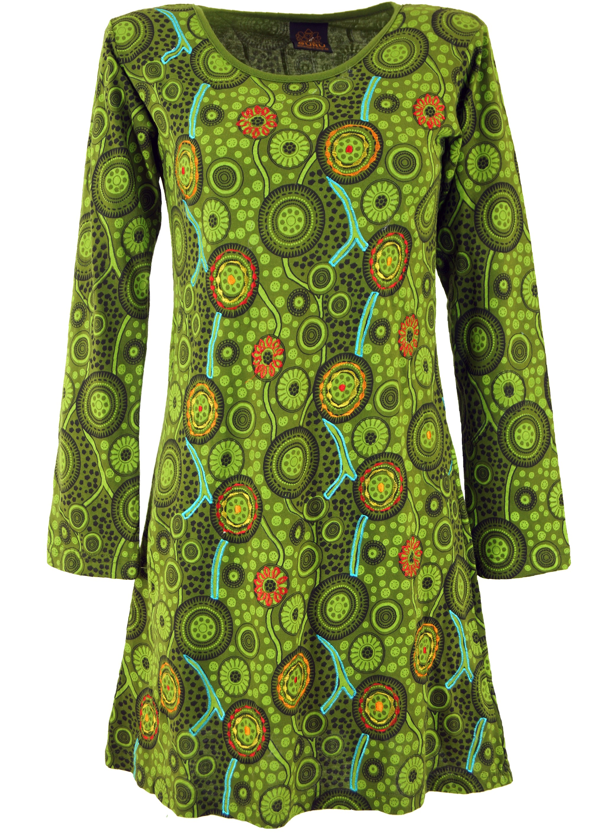 tunika minikleid hippie