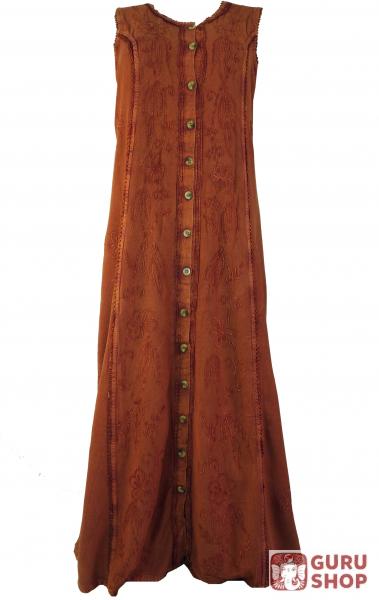 1efb5f6c029b Besticktes indisches Hippie Kleid - Design 3